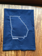 Load image into Gallery viewer, Georgia Navy Home Towel