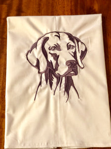 Weimeraner Dog Towel
