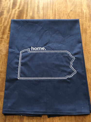Navy Pennsylvania PA Home Local Love Towel