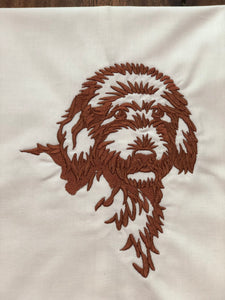 Goldendoodle Dog Towel