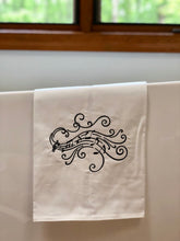Load image into Gallery viewer, Bass Clef Music Towel