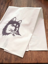 Load image into Gallery viewer, Husky Klee Kai Dog Towel
