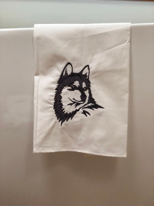Husky Klee Kai Dog Towel