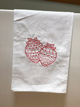 Load image into Gallery viewer, Strawberries Fruit Towel