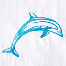 Load image into Gallery viewer, Dolphin in Blue Sea Tropical Ocean Towel
