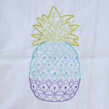 Load image into Gallery viewer, Ombre Pineapple Towel
