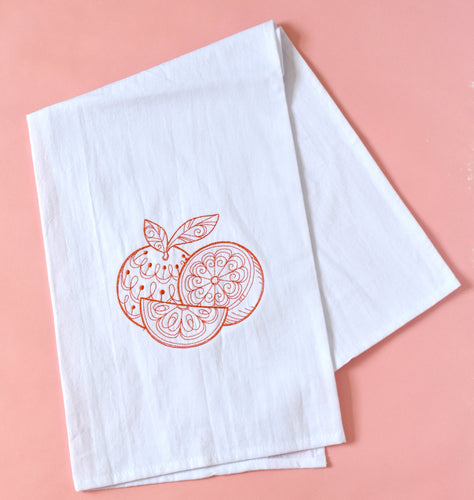 Oranges Fruit Citrus Towel