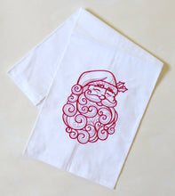 Load image into Gallery viewer, Santa Christmas Holiday Towel