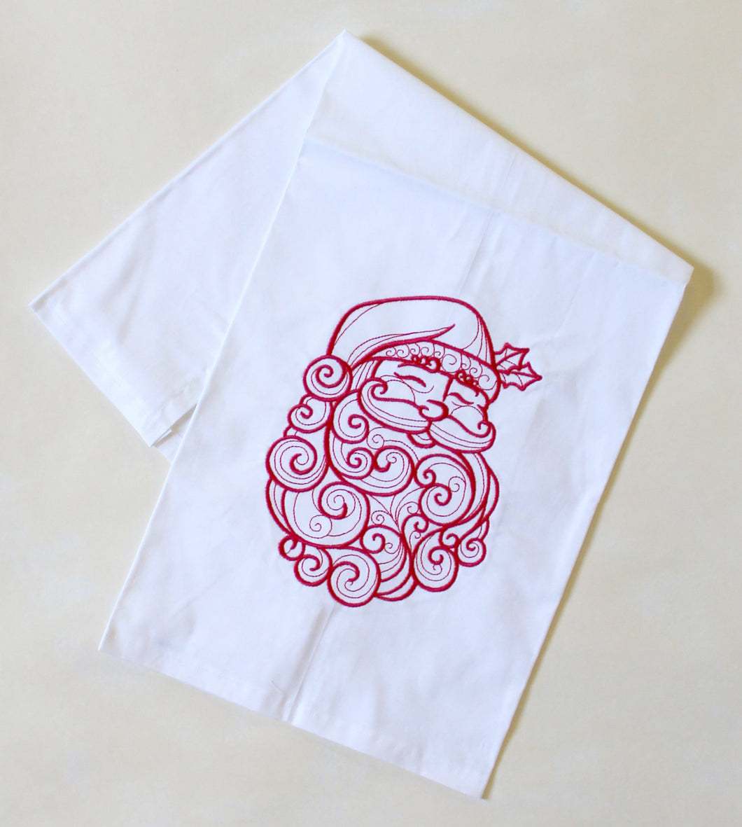 Santa Christmas Holiday Towel