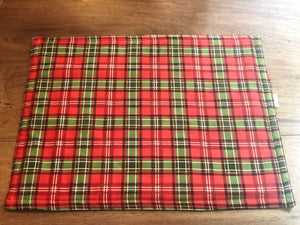 Christmas Holiday Seasonal Plaid Winter Placemats
