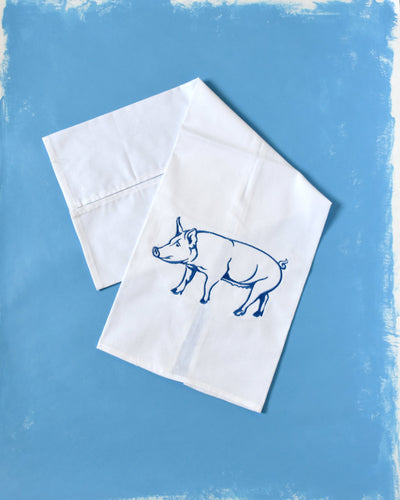 Pig Farm Country Animal Towel
