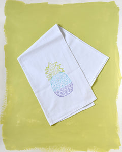 Ombre Pineapple Towel