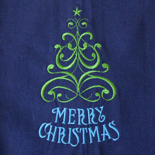 Load image into Gallery viewer, Merry Christmas Tree Christmas Winter Towel