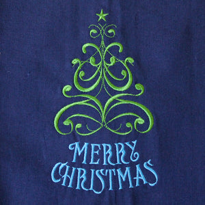 Merry Christmas Tree Christmas Winter Towel