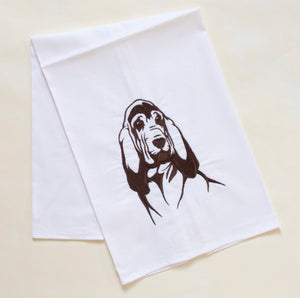 Bloodhound Dog Towel