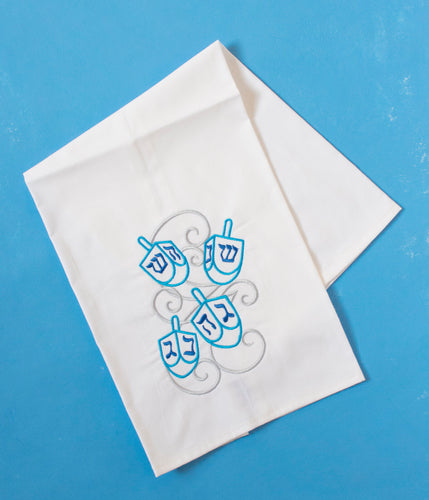Dreidel Hannukah Chanukkah Holiday Towel