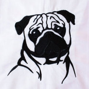 Pug Dog Towel