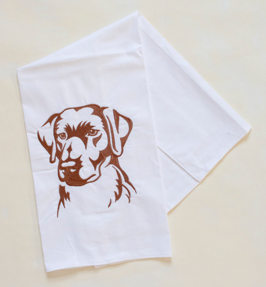 Labrador Retriever Dog Towel