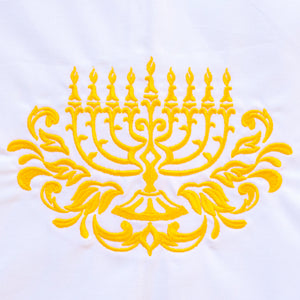 Menorah Hannukah Chanukkah Holiday Towel
