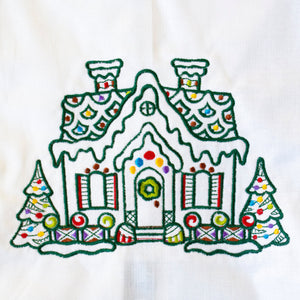 Gingerbread House Towel
