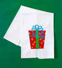 Load image into Gallery viewer, Fancy Christmas Package Towel