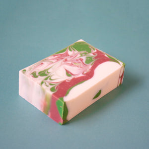 Handmade Small Batch Soap w 8 Unique Oils & Peppermint Scent