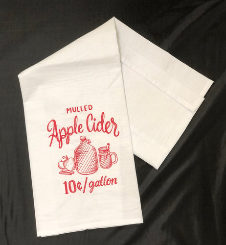 Farmers Market Fall Apple Cider Towel