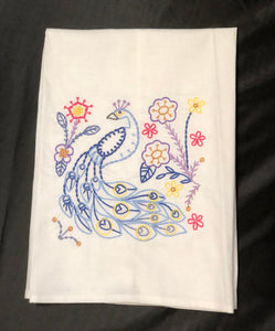 Peacock Home Towel
