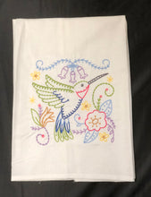 Load image into Gallery viewer, Hummingbird Towel