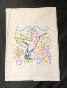 Hummingbird Towel