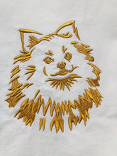 Load image into Gallery viewer, Spitz Pomeranian Dog Dish Towel