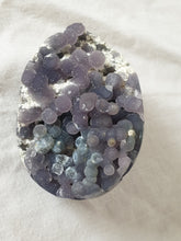 Load image into Gallery viewer, Grape Agate egg multicolour crystal specimen