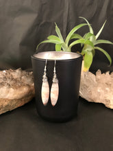 Load image into Gallery viewer, Boho wire wrapped Crazy Lace Agate earrings sterling silver