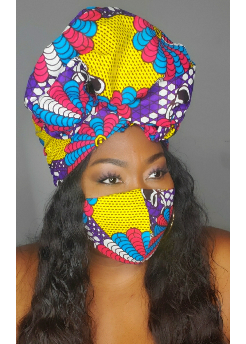 Tribal scarf and mask