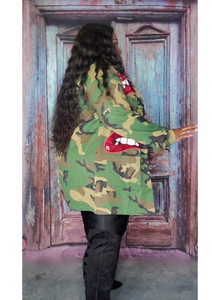 Smoke screen Camo Jacket