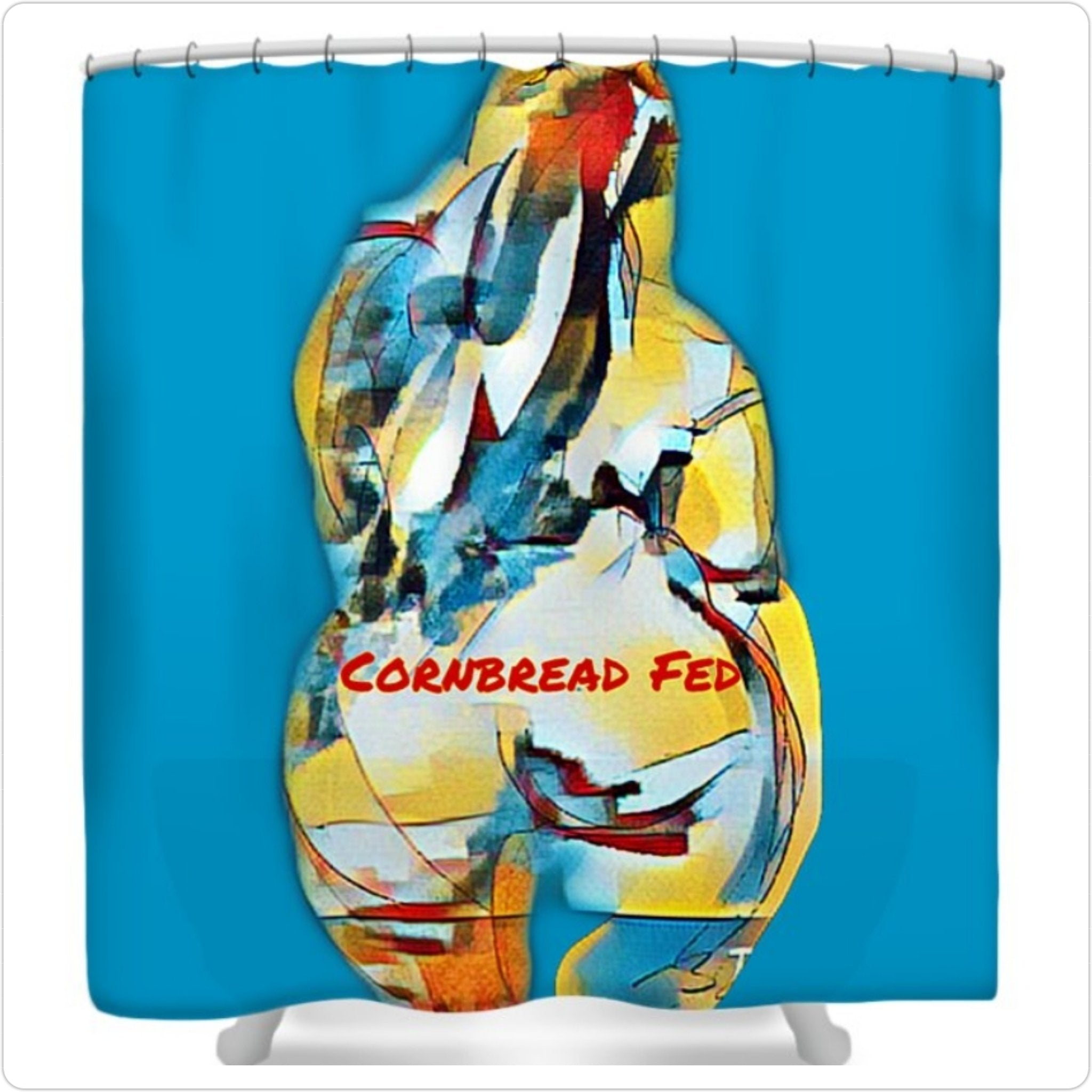 Cornbread Fed Shower Curtain