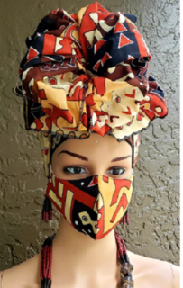 Thailand  Scarf mask set