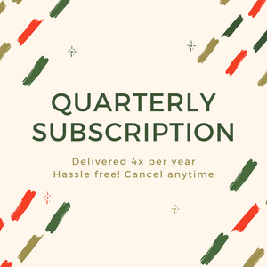 Quarterly Subscription - ZHERO BOX
