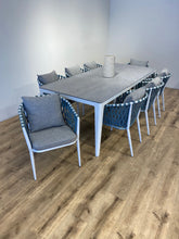 Load image into Gallery viewer, Blue Diamond Dining Set for 8
