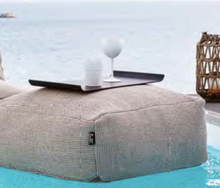 Load image into Gallery viewer, Pouffes - Square 75 cm x 75 cm - Beige