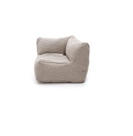 Load image into Gallery viewer, Pouffes - Corner Seat 75 cm x 75 cm - Beige