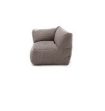 Load image into Gallery viewer, Pouffes - Corner Seat 75 cm x 75 cm - Grey