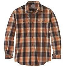 Load image into Gallery viewer, Carhartt Hubbard Flannel Long Sleeve Shirt