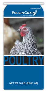 Poulin Quik Grow Broiler Crumbles