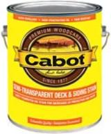 Cabot Semi-Transparent Deck & Siding Stain