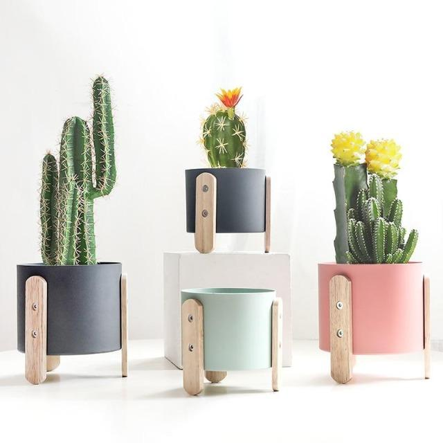 Cotia - Innovative Flower Pot Planter - Silky decor