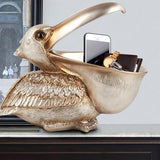 Topika- Pelican Storage Basket - Silky decor