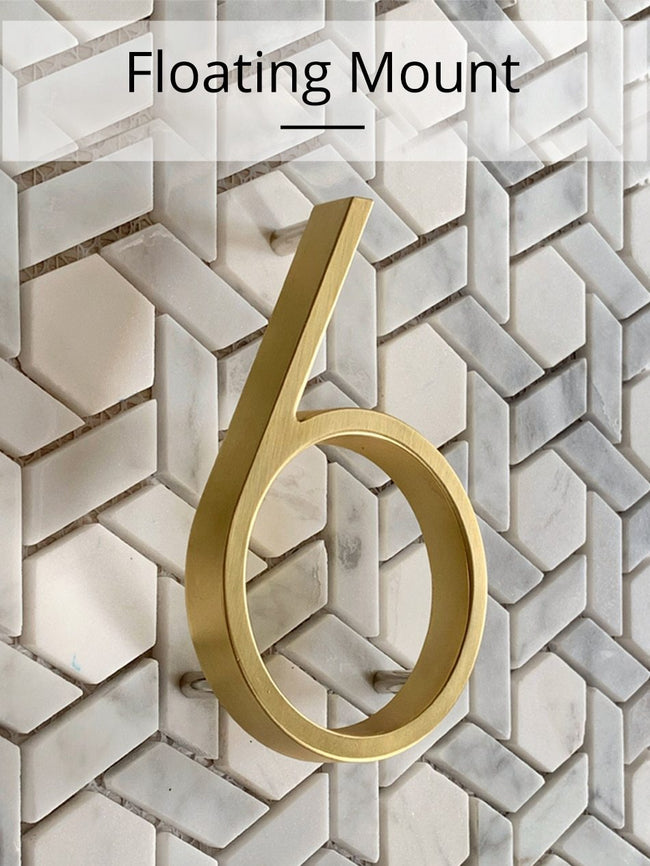 Airresa - Classic House Number Signs