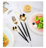 Dana - Stainless Steel Cutlery - Silky decor