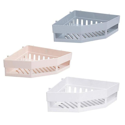 Darcia - Corner Bathroom Shelves
